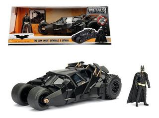 Batimovil Batmobile The Dark Night / Batman Jada 1:24