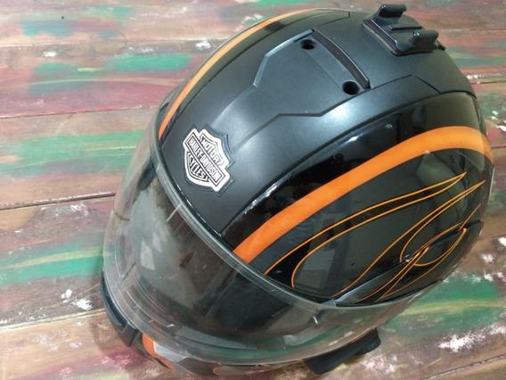 Capacete Harley Davidson Modular Incinerator Tamanho 58