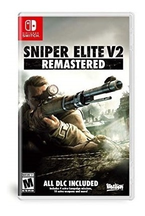 Sniper Elite V2 Remastered Switch Mídia Física Novo Lacrado