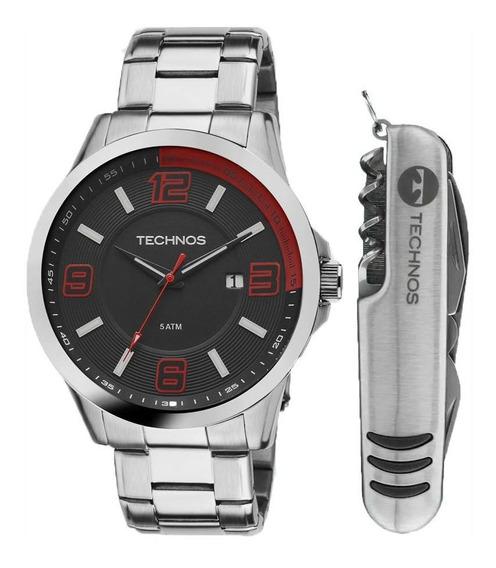 Kit Relógio Technos 2115klm-k1r