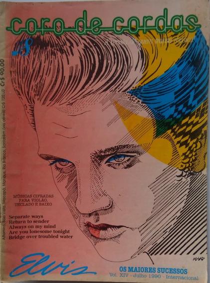 Elvis Presley Revista Músicas Cifradas Violão,teclado, Baixo