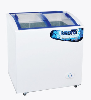 Freezer Exhibidor Horizontal Teora Fh250tvi 178 Lts Visor
