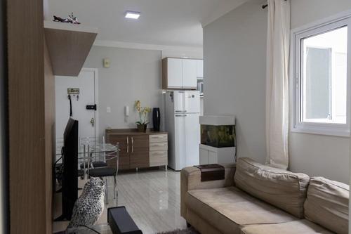Apartamento Com 2 Dormitórios À Venda, 56 M² - Vila Guaraciaba - Santo André/sp - Ap64993