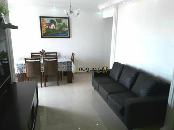 Apartamento Com 3 Dormitórios À Venda, 72 M² Por R$ 409.000,00 - Jardim Luanda - São Paulo/sp - Ap13287