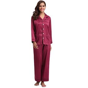 7fe38fd678 Pijamas Mujer En Satin Largas - Ropa y Accesorios en Mercado Libre ...
