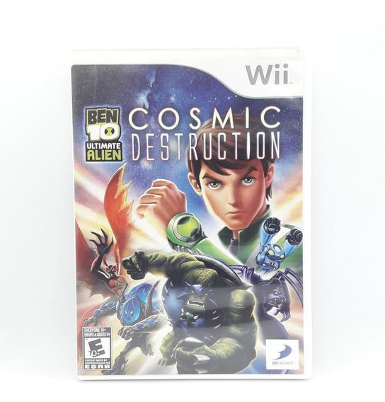 Ben 10 Ultimate Alien Cosmic Destruction Nintendo Wii Game