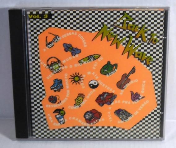Cd Vários Back To New Wave Volume 3 Lacrado Mpb Pop Rock