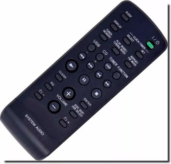 Controle Remoto Para Som Sony Linha Genezy Alguns Modelos