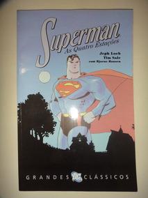 Grandes Classicos Dc 8 Superman As Quatro Estacoes Panini Ex