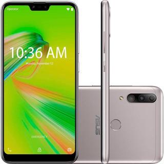 Smartphone Asus Max Shot, Prata, Tela 6,26 , 64gb, 12mp+5mp