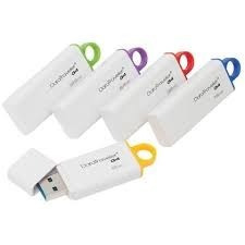Pen Drive Kingston 16 Gb Usb Branco