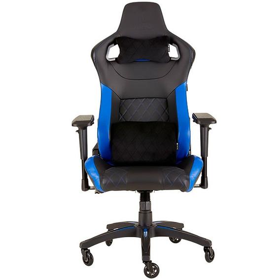 Cadeira Gamer Corsair Até 120kg Cf-9010014-ww Preta/azul