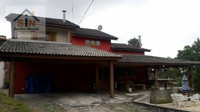 Chácara Residencial À Venda, Pedreira, Arujá. - Ch0005