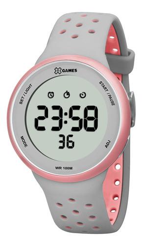 Relógio Xgames Xfppd039 Bxgr Unissex Cinza - Refinado