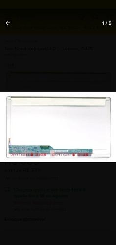 Imagem 1 de 5 de Tela Notebook Led 14.0  -  Lenovo  G475