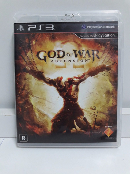 Jogo Ps3 God Of War Ascension Pt Br Portugues Midia Fisica