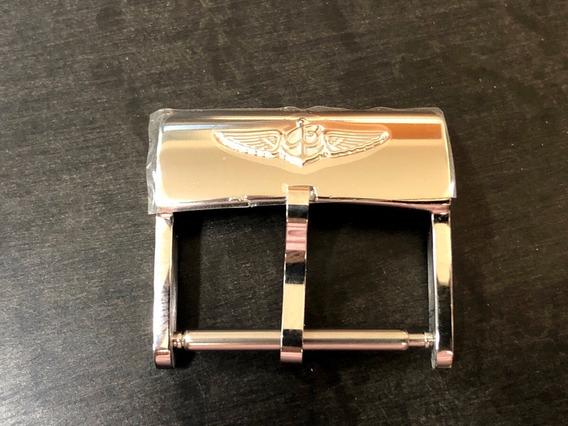 Breitling Fecho Novo Original Aço Inoxidável Completo 20mm