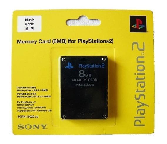 Memory Cards Playstation 2 Promoção 5 Unidades