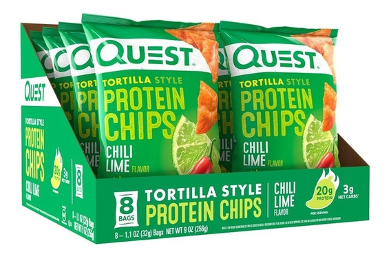 Quest Chips Sabor Limón Con Chile