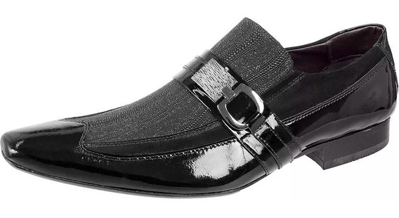 Sapatos Social Masculino Mocassim Couro Bico Fino Barato