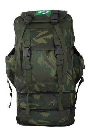 Mochila Camuflada Militar Impermeável Resistente Camping 503