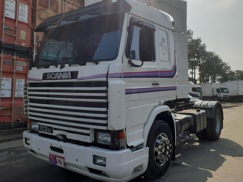 Scania 113 4x2 1997 Top Line  Motor Feito Agora Stander