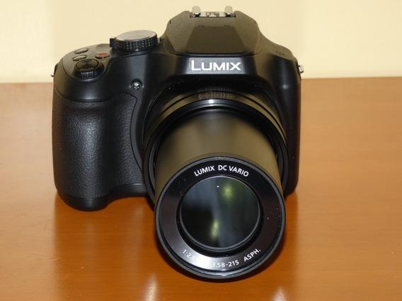 Cámara Panasonic Lumix Fz80 60x Con Wifi 4k