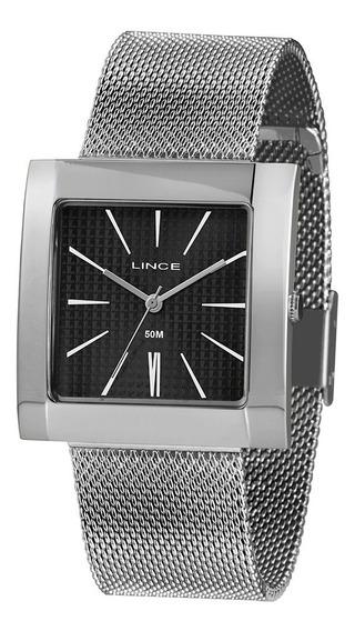 Relógio Lince Quadrado Feminino Lqm4654l + Garantia + Nfe