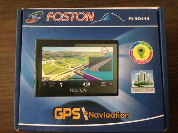 Gps Foston / Fs-3d443 / Tela 4.3 / 4 Gb / Fm