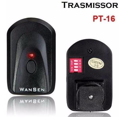 Radio Flash Wansen - Pt 16 - Kit Transmissor + Receptor