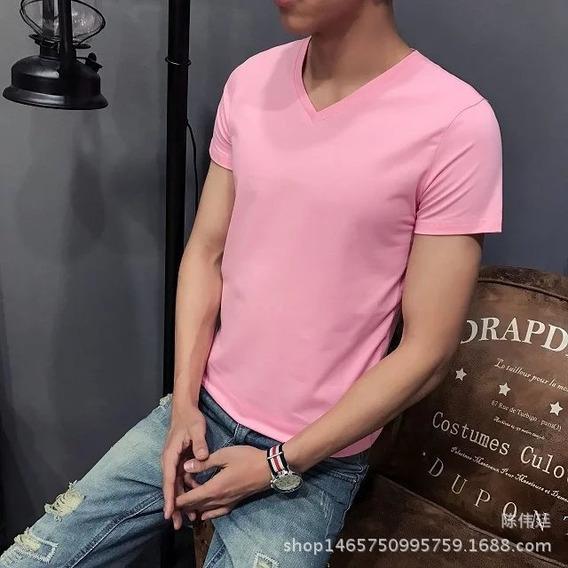 Camiseta Masculin M/c Kit C/4 Unidds Gola R Slim Fit P/e F/g