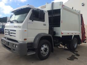 Caminhão Vw 13180 Compactador 13 Metros Cubicos Super Novo