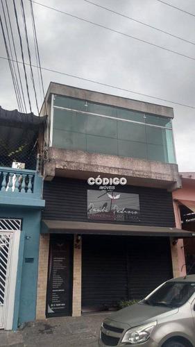 Imagem 1 de 5 de Salão Para Alugar, 45 M² Por R$ 1.500,00/mês - Jardim Vila Galvão - Guarulhos/sp - Sl0037
