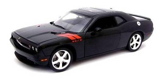 2010 Dodge Challenger R/t Preto - Escala 1:18 - Highway 61