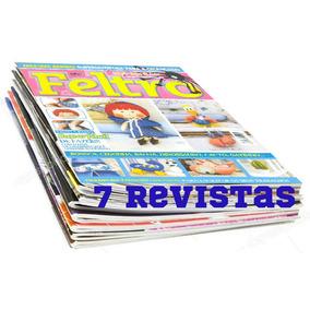 Revista Feltro Artesanato Passo A Passo + Moldes 7 Revistas