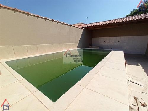 Imagem 1 de 15 de Casa Para Venda Em Itanhaém, Balneário Campos Elíseos, 2 Dormitórios, 1 Suíte, 1 Banheiro, 2 Vagas - 1014_1-1930766