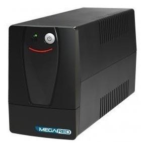 Ups Standby Con Estabilizador Y Display De 650va Mega Red