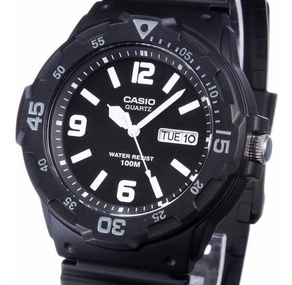 Relógio Casio Mrw-200h-1b2v Masculino Frete Grátis 100m