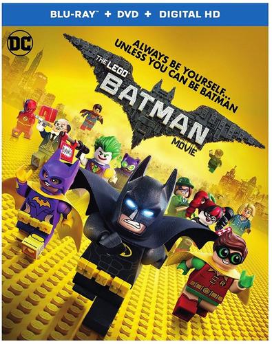 The Lego Batman Movie Blu-ray + Dvd + Digital Hd Original