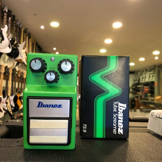 Pedal Ibanez Tube Screamer Ts9 Ts 9 Guitarra