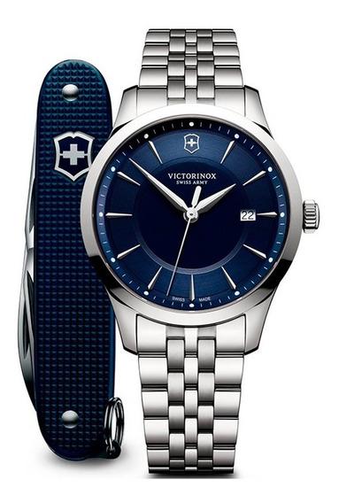 Reloj Victorinox Alliance 241802.1 Con Navaja Suiza Pioneer