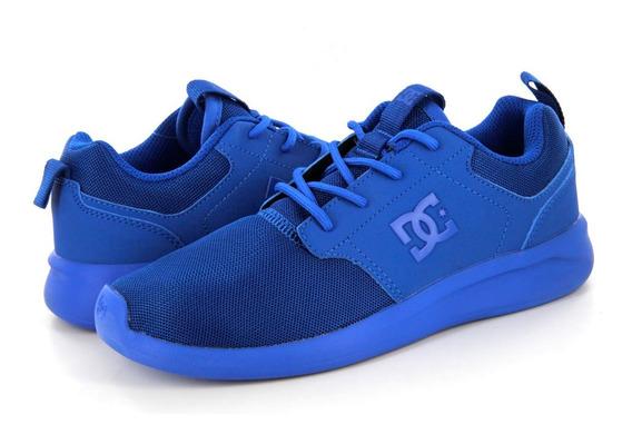 Tenis Dc Shoes Midway Nautical Blue #29 Nuevos - Adys700096