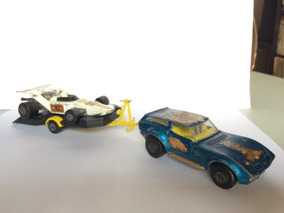 Carro E Trailer Matchbox Speed Kings Lesney England