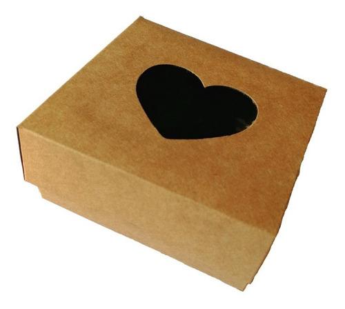 Imagen 1 de 5 de Cajas Craft Con Ventana Para Souvenirs O Packaging