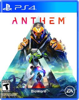 Anthem - Ps4 Sellados