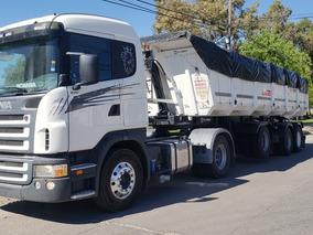Scania G340 Con Batea 2016