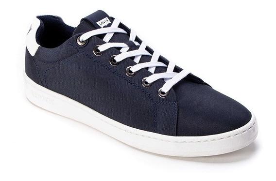 Tenis Levi´s Caballero L210411 Confort Azul Marino Casuales