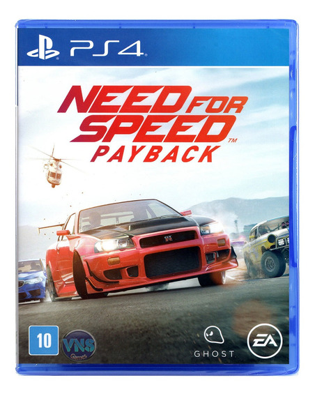 Need For Speed Payback - Ps4 - Leg. Português - Novo