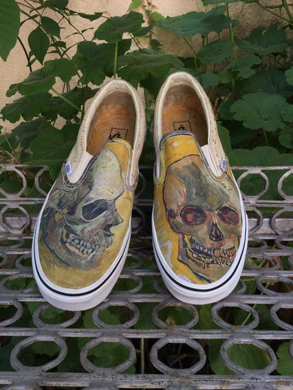 Vans Classic Slip On Vicent Van Gogh Ml/0016