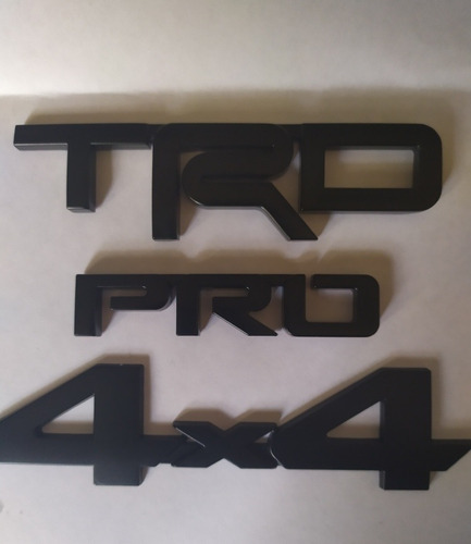 Emblema Trd Pro 4x4 Toyota Tacoma